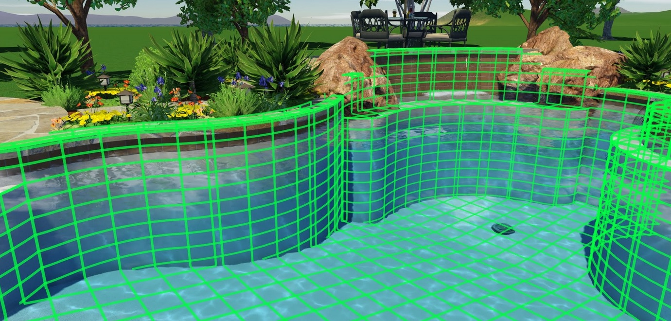 Custom swimming pool design landmark swimming pools for Swimming pool design layout